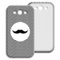 Case Samsung Galaxy S3 - Monsieur schwarz-weiss 23854 test