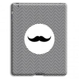 Case iPad 2 - Monsieur schwarz-weiss - 1