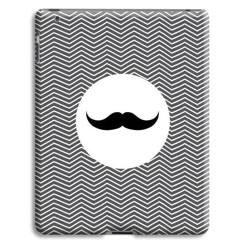Case iPad 2 - Monsieur schwarz-weiss 23860 test