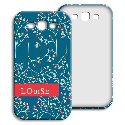Case Samsung Galaxy S3 - Weihnachtsblumen 23869