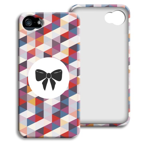 Case iPhone 5/5S - Motiv Schleife 23884