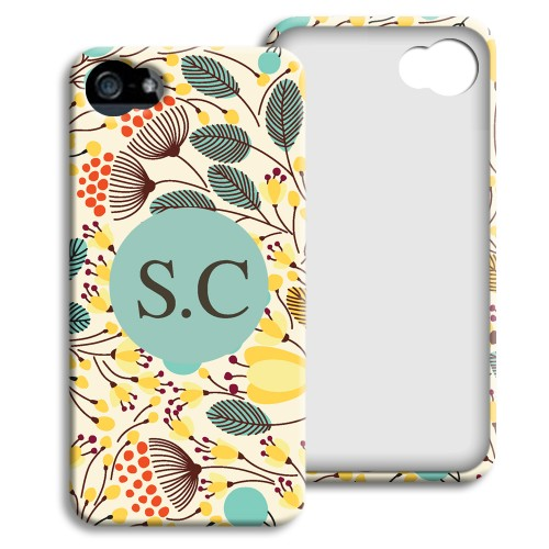 Case iPhone 5/5S - Blumenfeld 23918