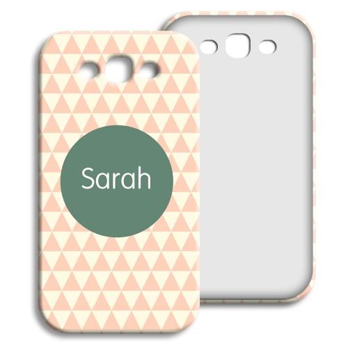 Case Samsung Galaxy S3 - Zickzackmuster rosa 23948