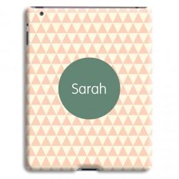 Case iPad 2 - Zickzackmuster rosa - 1