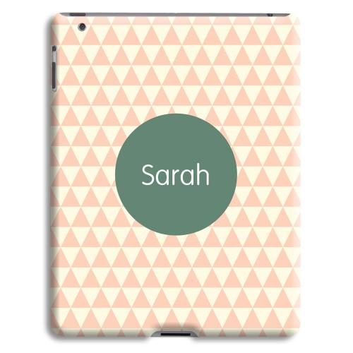 Case iPad 2 - Zickzackmuster rosa 23963
