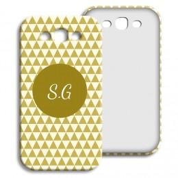 Case Samsung Galaxy S3 - Lindgrünes Muster - 1