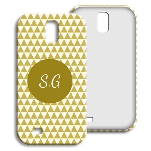 Case Samsung Galaxy S4 - Lindgrünes Muster 23975