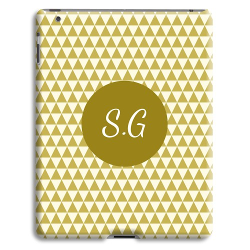Case iPad 2 - Lindgrünes Muster 23987