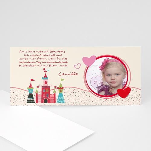 Einladungskarten Kindergeburtstag - Sommerlich 2402 test