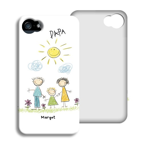iPhone Cover NEU - Gekritzel 24025