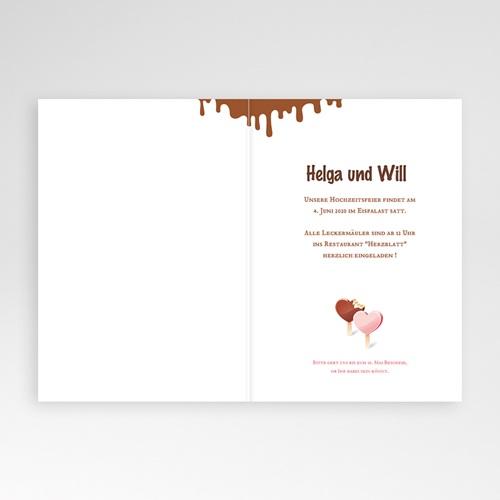Einladungskarten Hochzeit  - Olympia 24059 thumb
