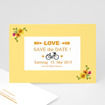 Save The Date  - Style Printanier - 1