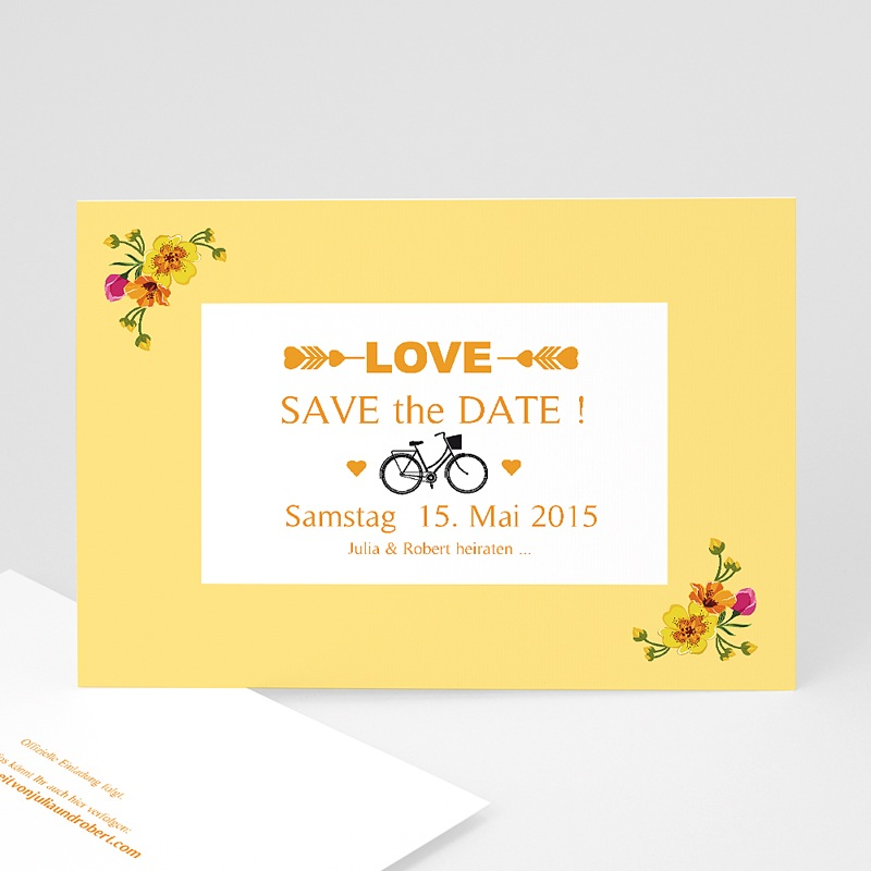 Save The Date  Retro Charme