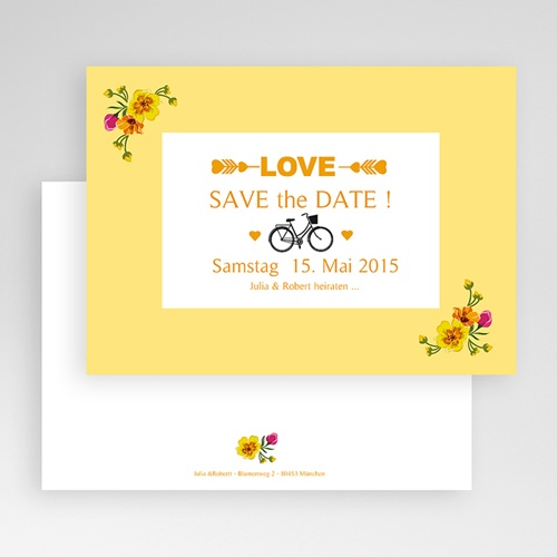 Save The Date  - Retro Charme 24122 test