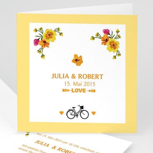 Hochzeitseinladungen modern - Nizza 24126