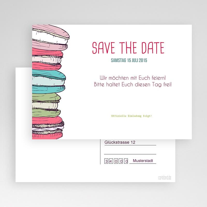 Save The Date Karten Hochzeit Nelly gratuit