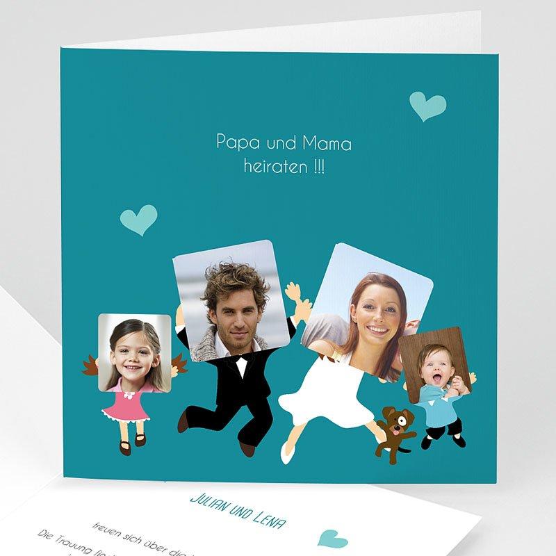 Hochzeitseinladungen Happy family