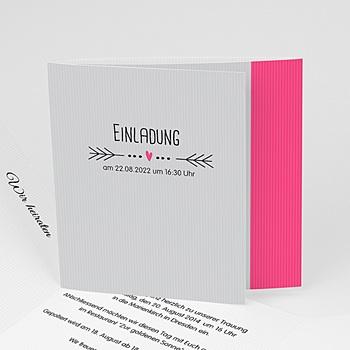 Hochzeitseinladungen modern - Traumpaar - 1