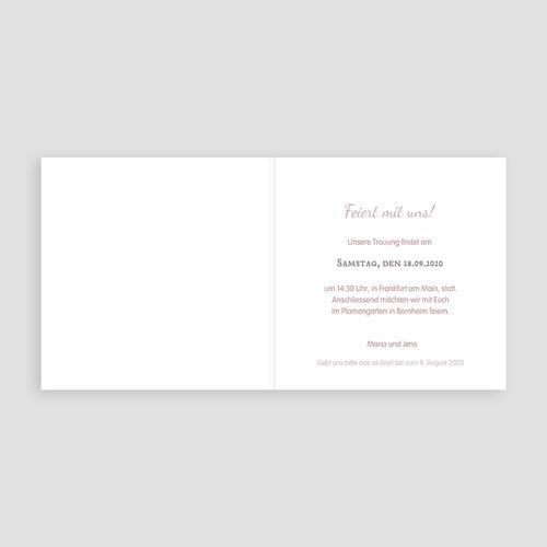 Einladungskarten Hochzeit  - Vintage Chic 24265 test