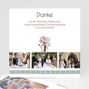 Danksagungskarten Hochzeit  - Vive les mariés - 1