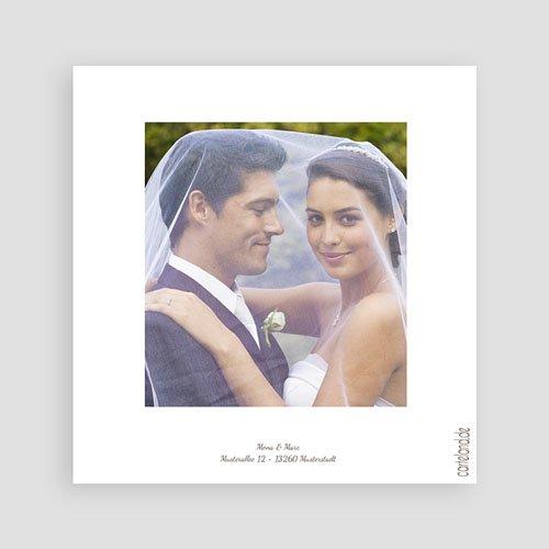 Danksagungskarten Hochzeit  Diane pas cher