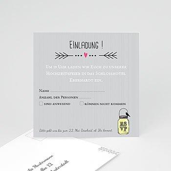 Einlegekarte individuell - Traumpaar - 1