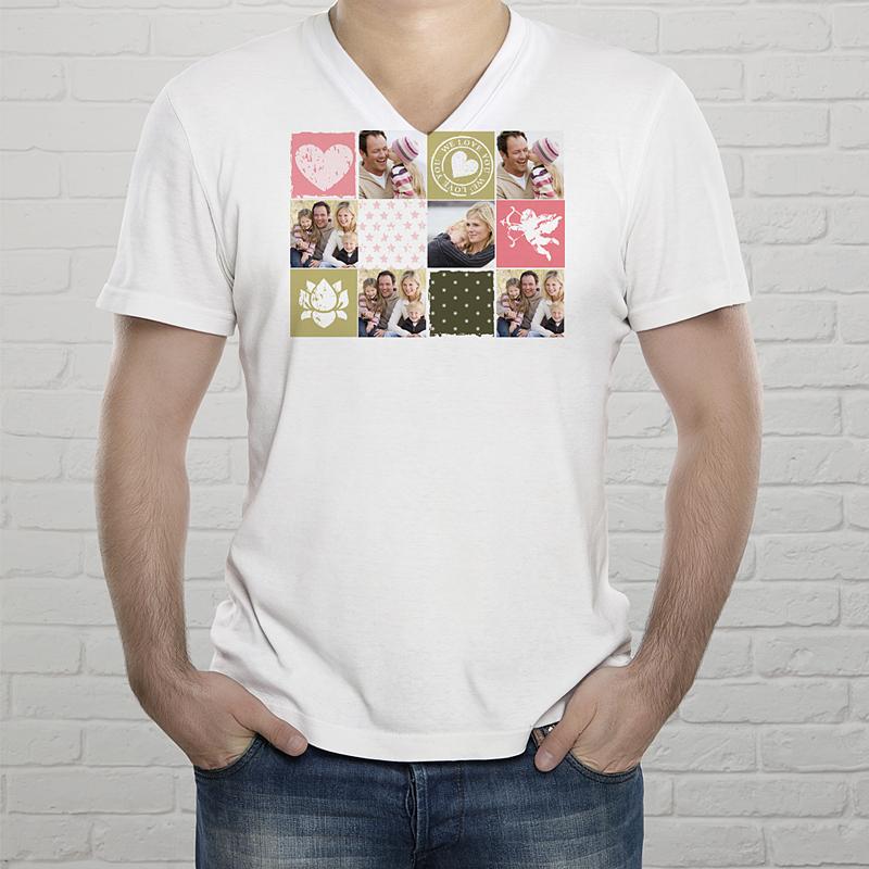 Tee-Shirt  - Collage zum Valentinstag 2436 thumb