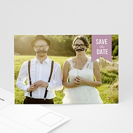 Save the date Hochzeit Kleines Kino