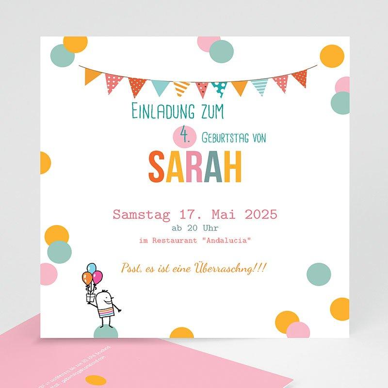 Einladungskarten Geburtstag Jungen Pailletten