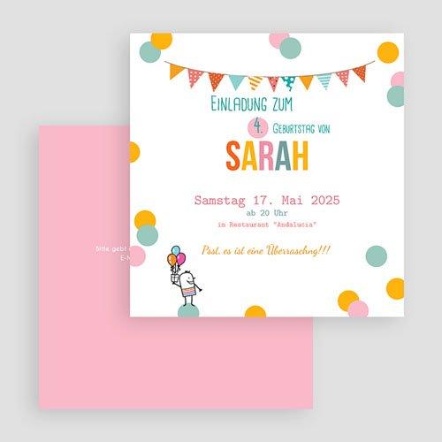 Einladungskarten Geburtstag Jungen Pailletten gratuit