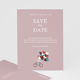 Save The Date  - A bicyclette - 1