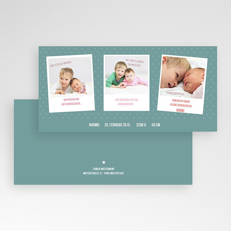 Geburtskarten für Mädchen Unzertrennlich pas cher