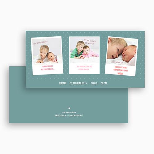 Geburtskarten für Mädchen - Unzertrennlich 24576 preview