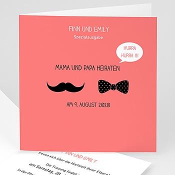Originelle Hochzeitskarten  - Elegant - 1