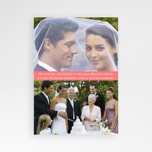Originelle Dankeskarte Hochzeit  - Tanzpaar 24619 preview