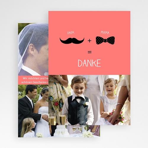 Originelle Dankeskarte Hochzeit  - Tanzpaar 24620 preview