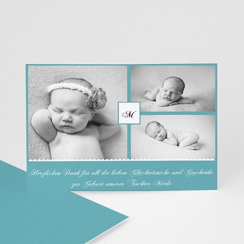 Dankeskarten Geburt Mädchen - Kyara 24717