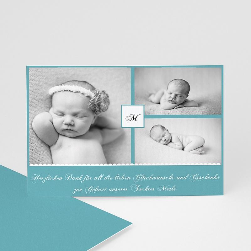 Dankeskarten Geburt für Mädchen Kyara