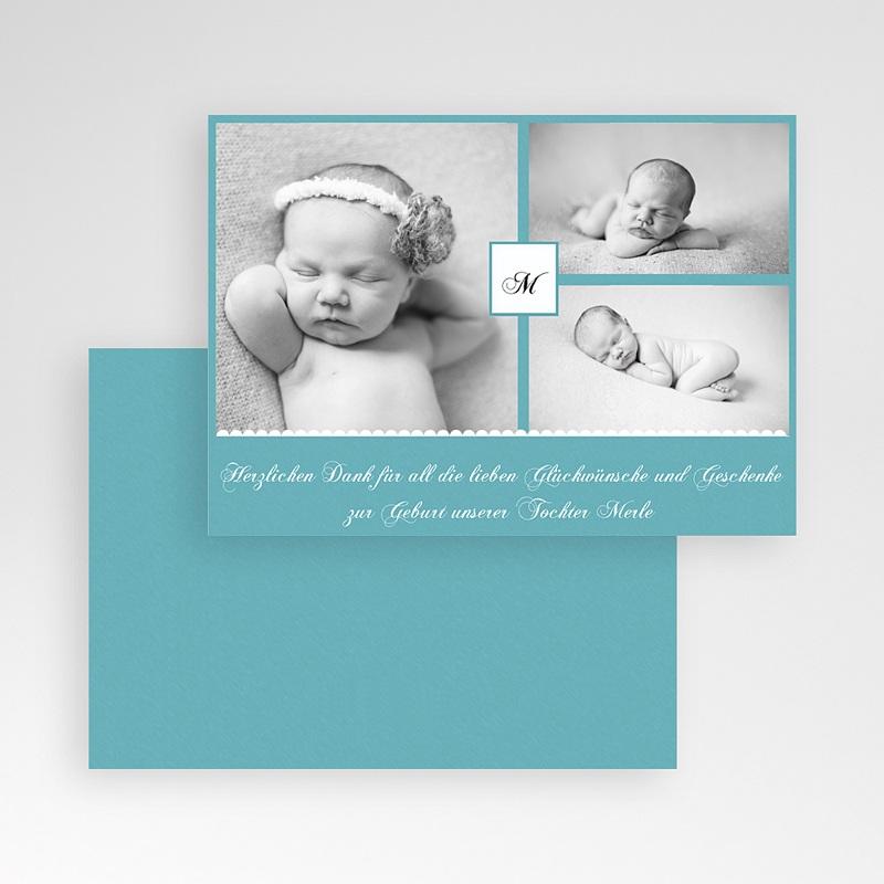 Dankeskarten Geburt für Mädchen Kyara pas cher