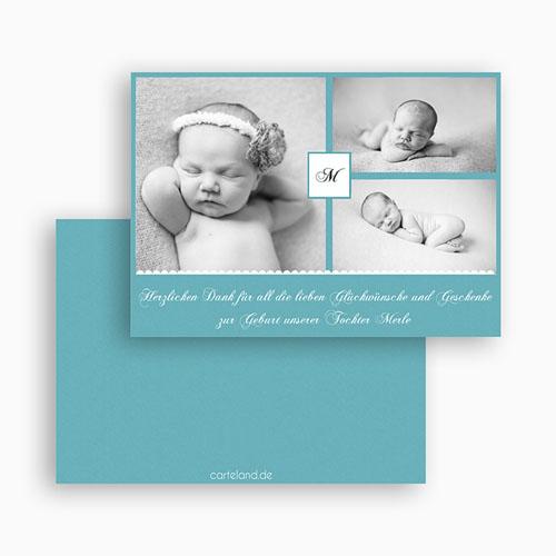 Dankeskarten Geburt Mädchen - Kyara 24719 test