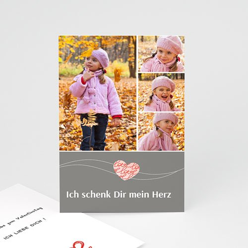 Karten zum Valentinstag - Amour 2478