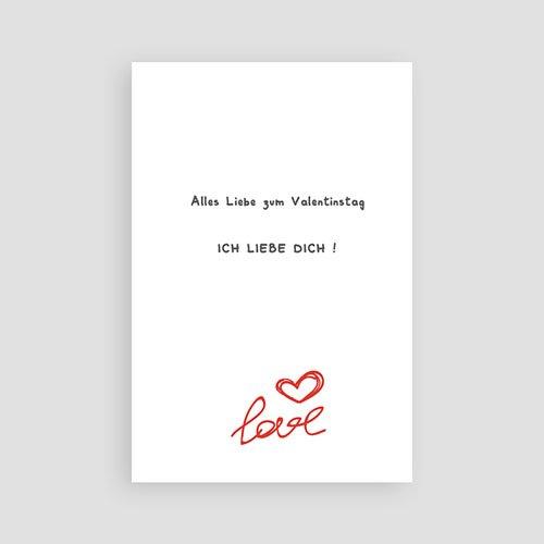 Karten zum Valentinstag - Amore 2479 test