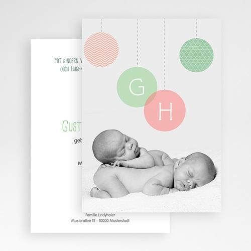 Babykarten für Zwillinge gestalten - Olivia 24806 test