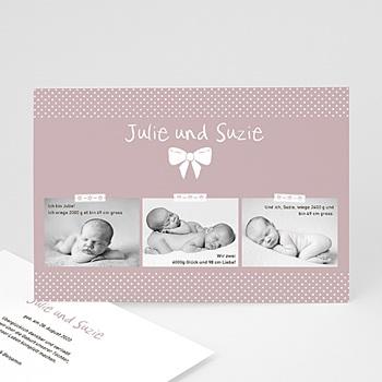 Babykarten für Zwillinge gestalten - Madame - Zwillinge - 1