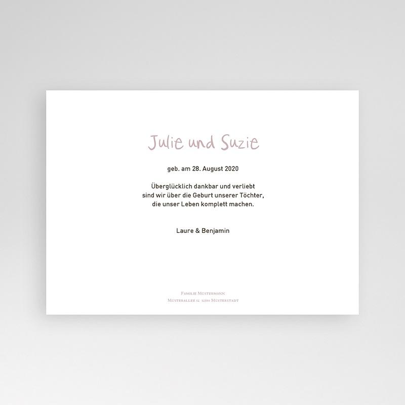 Geburtskarten für Zwillinge Madame - Zwillinge pas cher