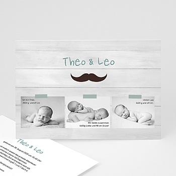 Babykarten für Zwillinge gestalten - Misters - jumeaux - 1