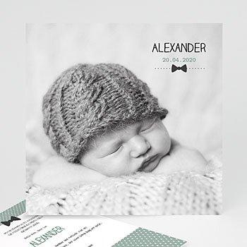 Babykarten für Jungen - Fliege im Trend - 1