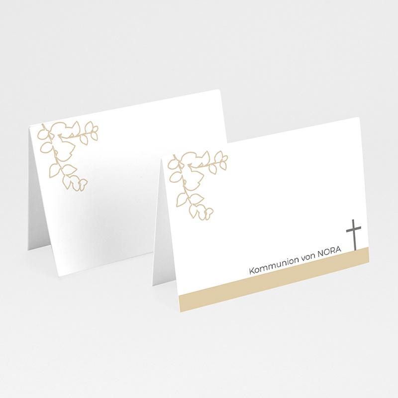 Tischkarten Kommunion Heiliger Geist