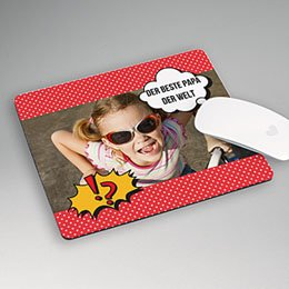 Foto-Mousepad - Super Papa - 1