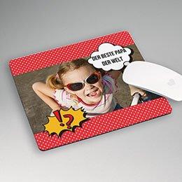 Personalisierte Foto-Mousepad - Super Papa - 1